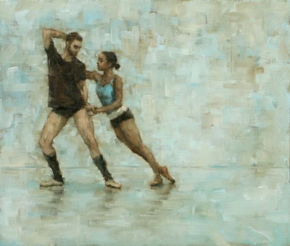 Carl Chapple, 'Celtic Concerto' - Robbie Moorcroft & Krystal Lowe (Ballet Cymru Rehearsal 174)