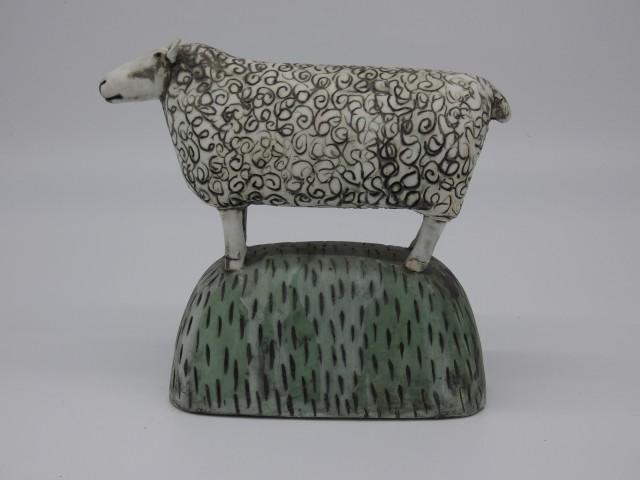 Anna Noel, Sheep on the Hill I