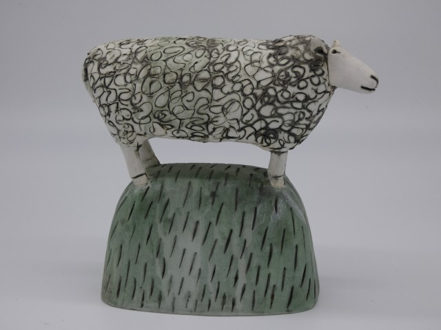 Anna Noel, Sheep on the Hill II