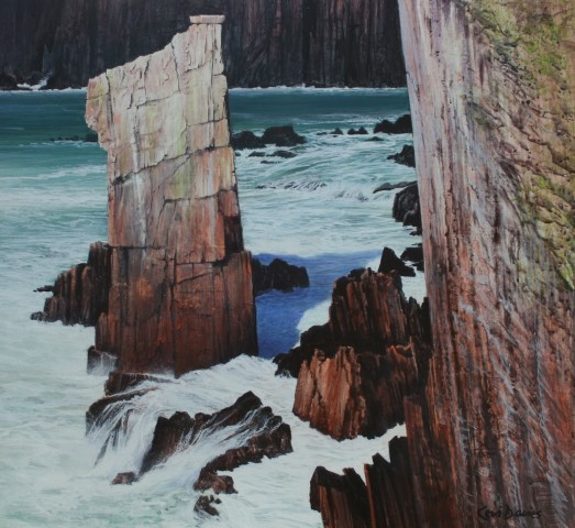 Ceri Auckland Davies, Balance (near Precipice Bay)