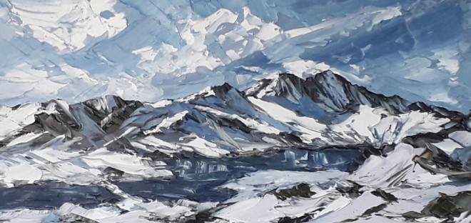 Martin Llewellyn, View from the Pyg Track