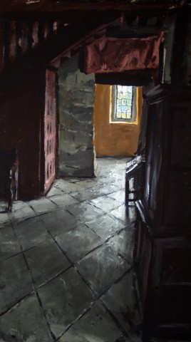 Matthew Wood, Gwydir Castle - View from the Solar Tower