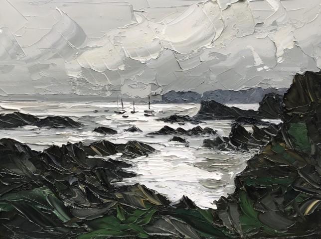 Martin Llewellyn, Light on the Water, Trearddur Bay