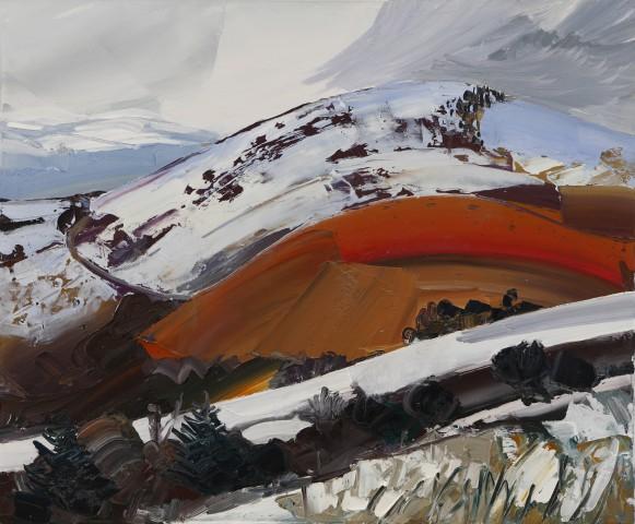 Sarah Carvell, Glowing Hill, Coed Llangwyfan