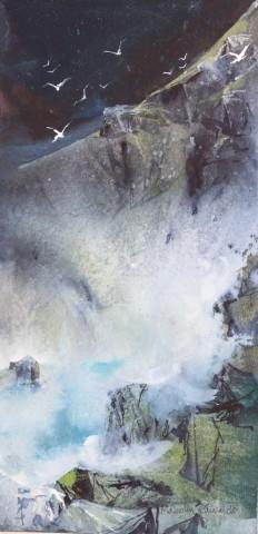 Malcolm Edwards, Heavy Sea, Porth Ysgaden