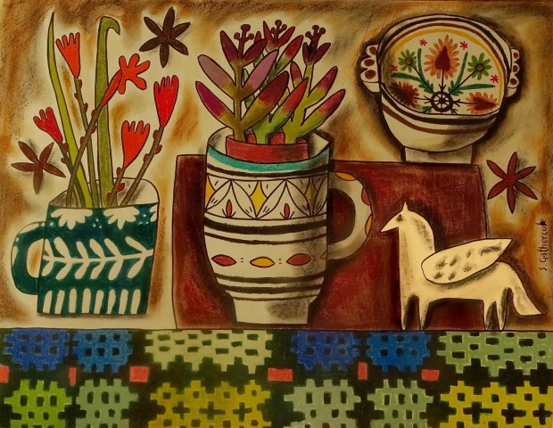 Susan Gathercole, Still Life with Brethyn and Pegasus