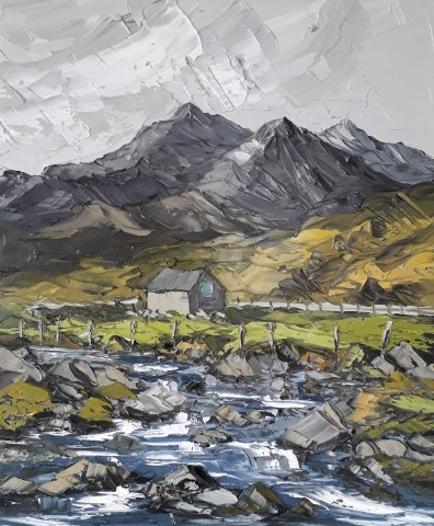Martin Llewellyn, Toward the Mountains