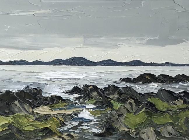 Martin Llewellyn, Rocky Coast, Low Tide
