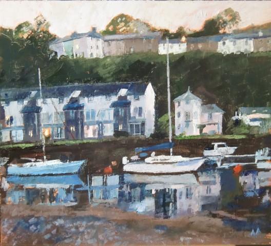 Anne Aspinall, Porthmadog, Evening Calm