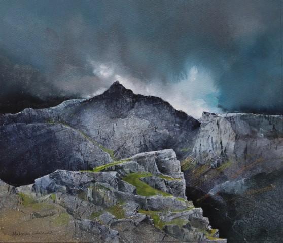Malcolm Edwards, Rain Swept Gryn Las Ridge