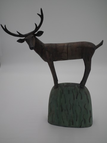 Anna Noel, Stag on a Hill I