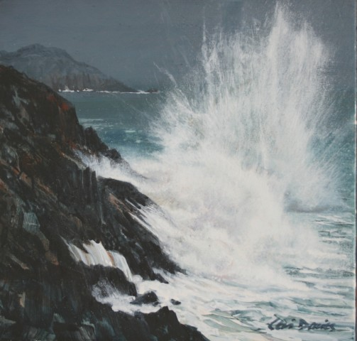 Ceri Auckland Davies, Crashing Wave
