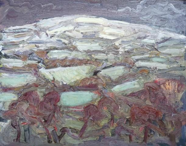 David Lloyd Griffith, Snow on High Ground, a Thaw in Dyffryn Dulas