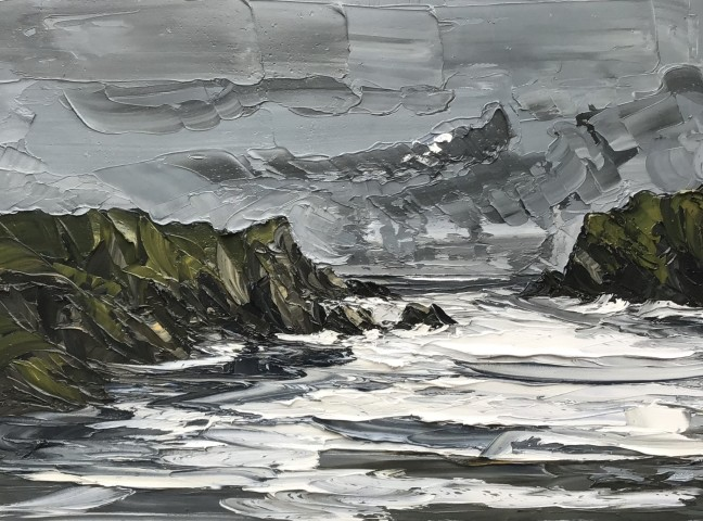 Martin Llewellyn, Evening Light, Porth Dafarch