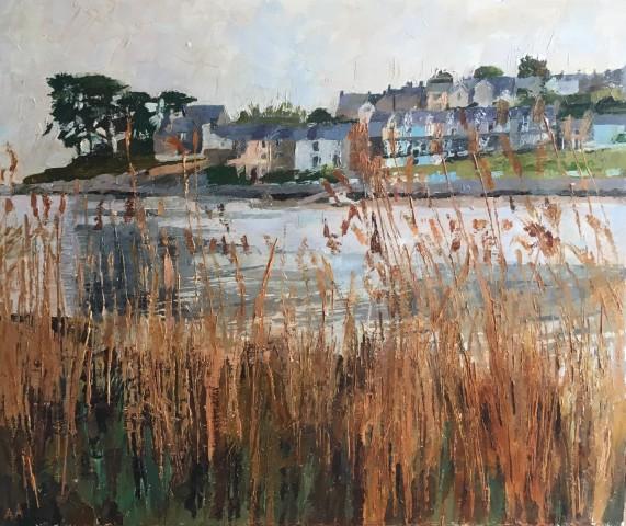 Anne Aspinall, Through the Reeds, Borth y Gest II