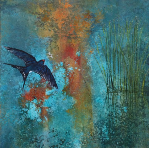 Malcolm Edwards, Hirondelle and Sunlit Water