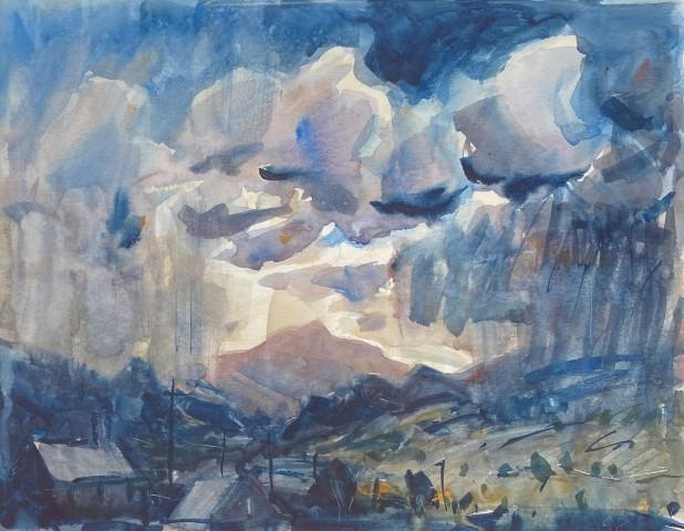 Gareth Parry, Moel Siabod, Cymylau Glaw / Moel Siabod, Rain Clouds