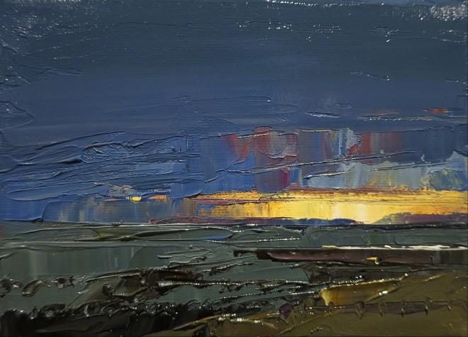 David Grosvenor, Sunset, Criccieth II