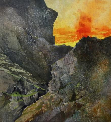 Malcolm Edwards, Setting Sun