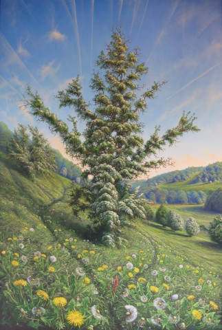 Gerald Dewsbury, They Tell Me the Fields in France are full of Flowers this time of Year