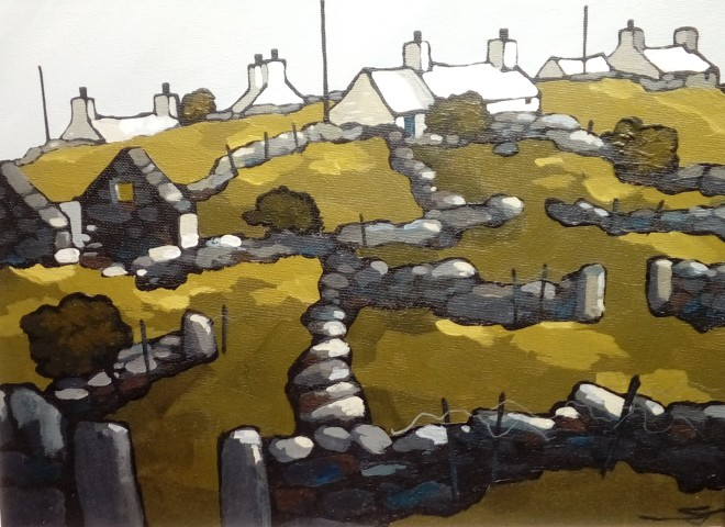 Stephen John Owen, Stone Walls, Y Fron