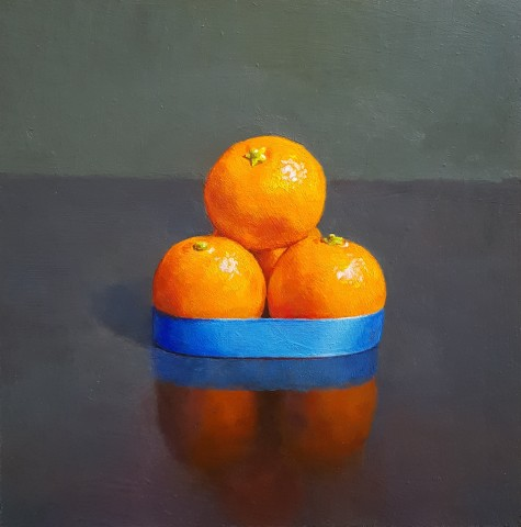 James Guy Eccleston, Orange & Blue