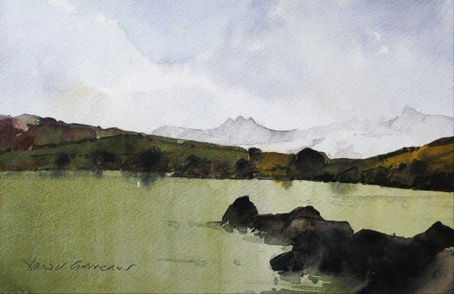 David Grosvenor, Snowdon from The Llynnau Mymbyr III