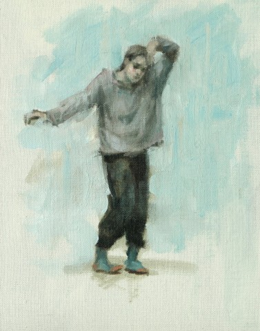 Carl Chapple, Erin Atkinson (Ballet Cymru Rehearsal 204)