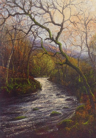 Gerald Dewsbury, By Afon Artro