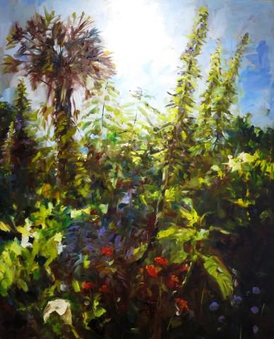 David Grosvenor, The Artist's Garden III
