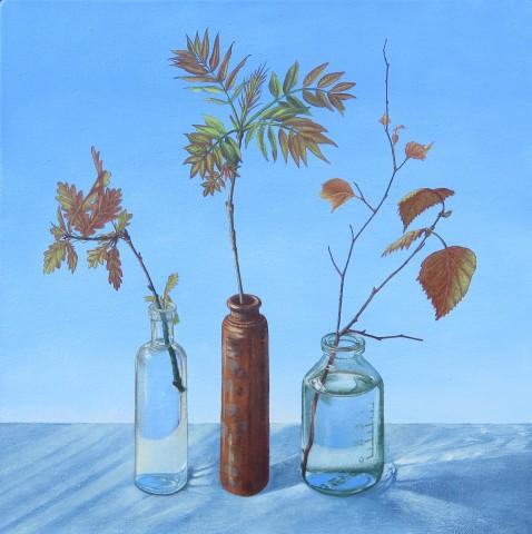 Kim Dewsbury, Oak, Ash, Birch. Early Spring, Bogwood