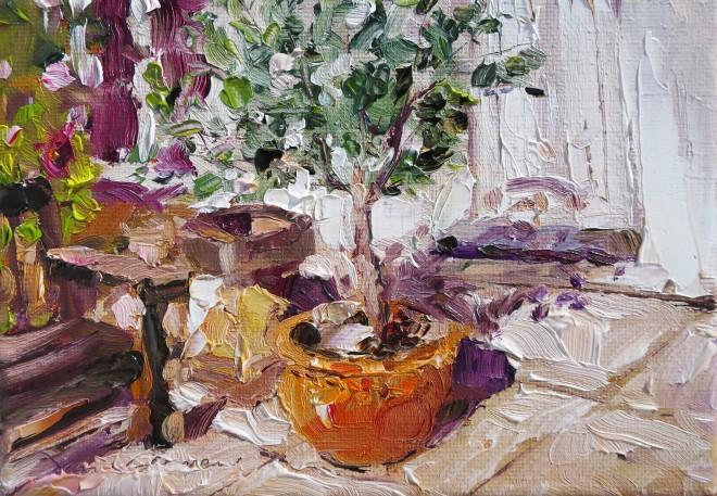 David Grosvenor, Olive Tree