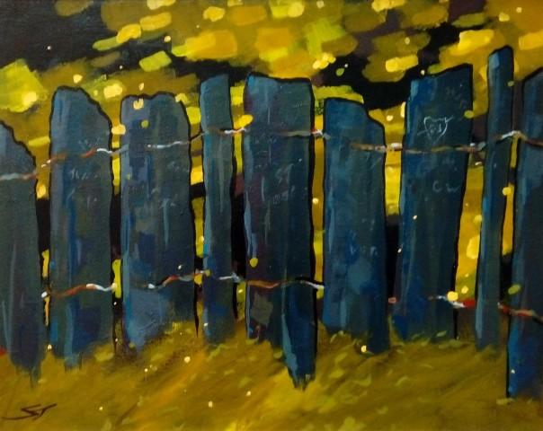 Stephen John Owen, Slate Fence