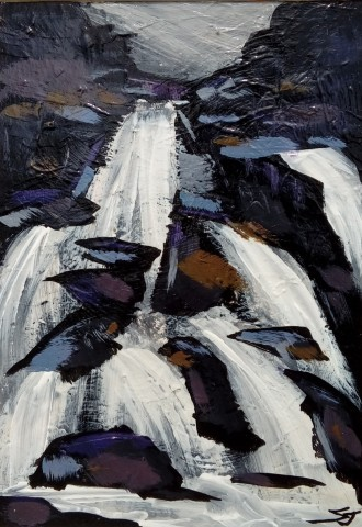 Stephen John Owen, Waterfall, Llanberis