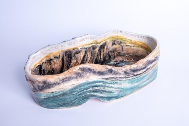 Helen Gittins, 'At sunset we climb Uwchmynydd'