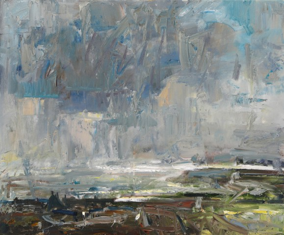Gareth Parry, Cawodydd dros y Môr, Llŷn / Showers over the Sea, Llyn