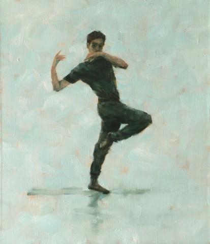 Carl Chapple, Miguel Fernandes (Ballet Cymru Rehearsal 104)