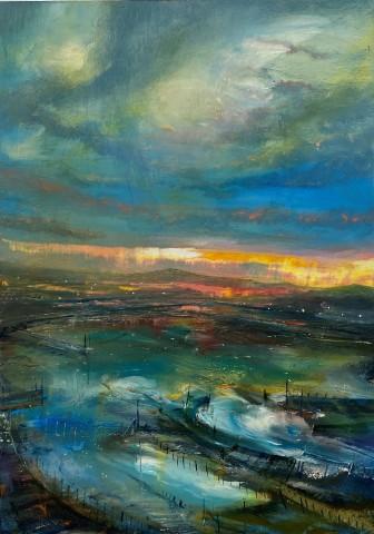 Iwan Gwyn Parry, Light Breaks at Holyhead Bay