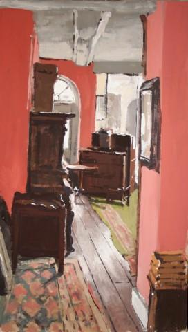 Matthew Wood, F E Anderson Antiques - Shop View
