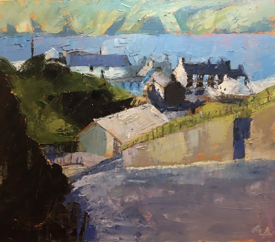 Anne Aspinall, Down the Hill into Aberdaron