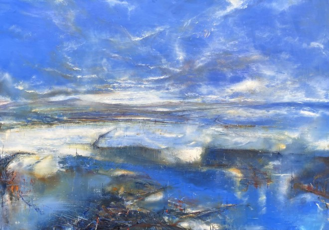 Iwan Gwyn Parry, The Flood Plain at Aberdyfi