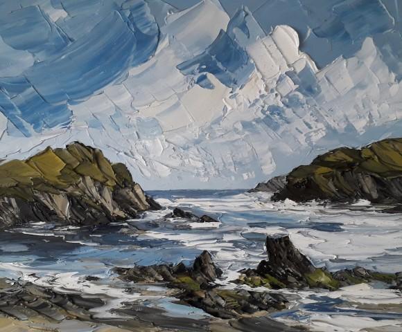Martin Llewellyn, Blue Sky, Porth Defarch