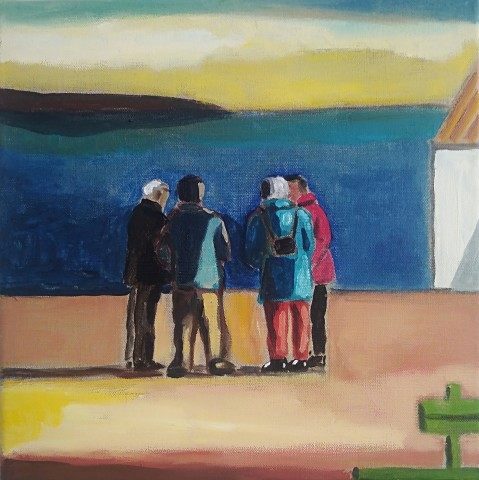 Emrys Williams, A Conversation, Rhos on Sea