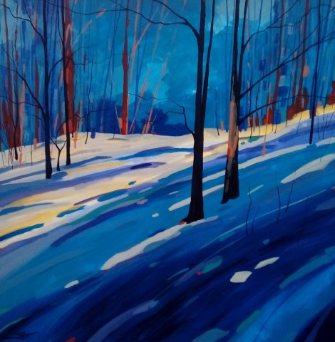 Stephen John Owen, Winter Woods