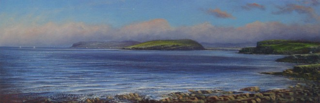 Gerald Dewsbury, Looking toward Puffin Island