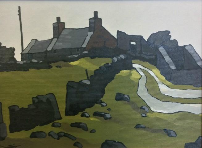 Stephen John Owen, Cottage, Cwm Pennant