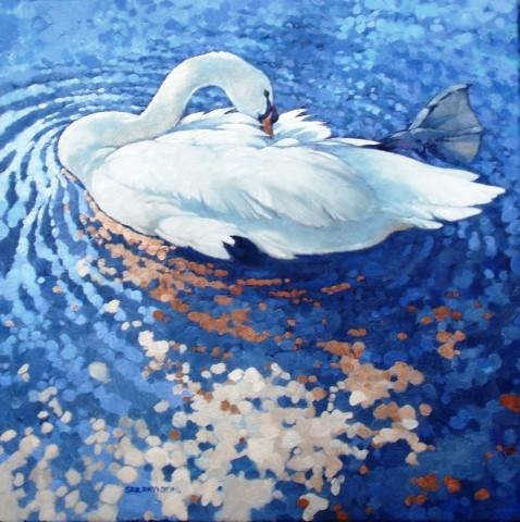 Colin See-Paynton, Sunlit Swan III
