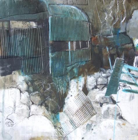 Pete Monaghan, Beddgelert Blue Barn