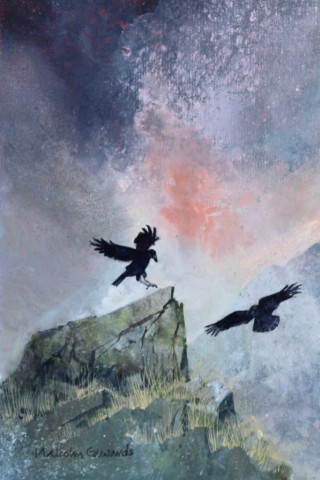 Malcolm Edwards, Ravens above Cwm Glas Mawr