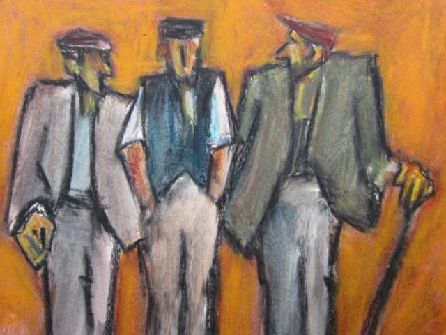 Mike Jones, Three Farmers, Royal Welsh